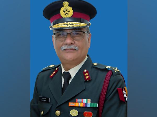 Major General SK Singh (Photo/ANI)