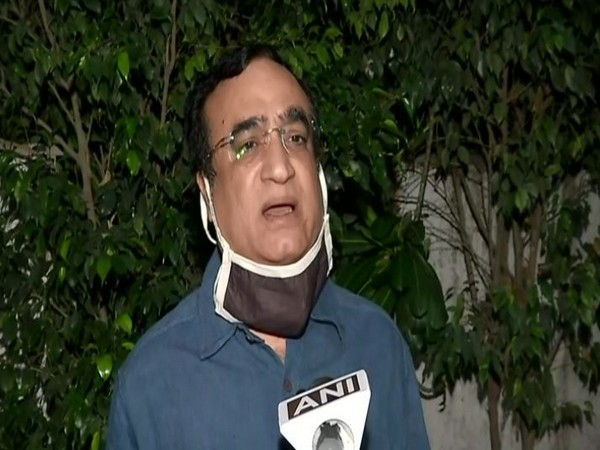 Congress leader Ajay Maken speaking to ANI in New Delhi on Tuesday. (Photo/ANI)