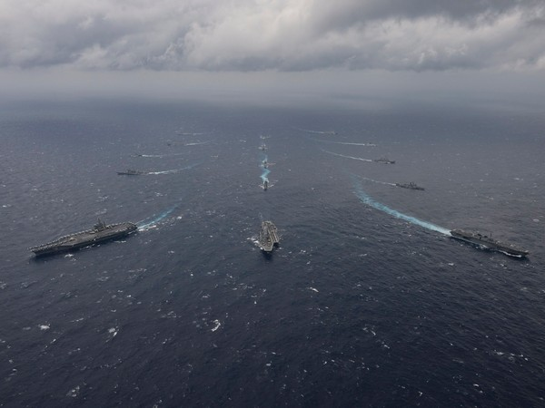 Visual of the Arabian Sea (Photo Credit: Indian Navy Twitter)