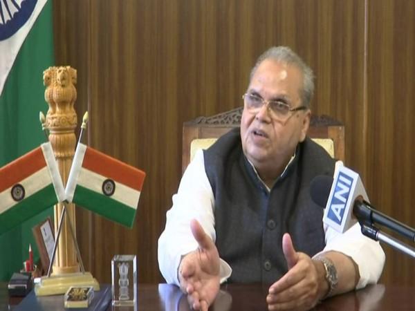 Goa Governor Satya Pal Malik talking to ANI on Saturday