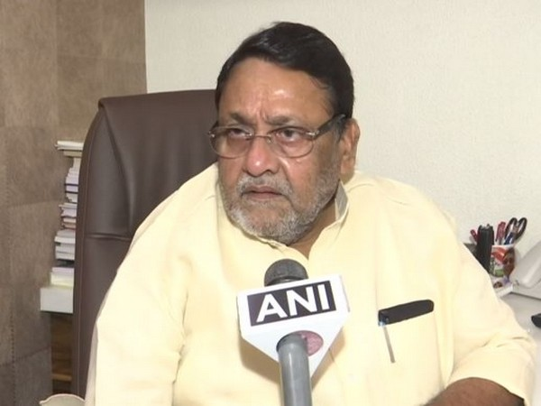 NCP leader Nawab Malik speaking to ANI in Mumbai on Thursday. Photo/ANI