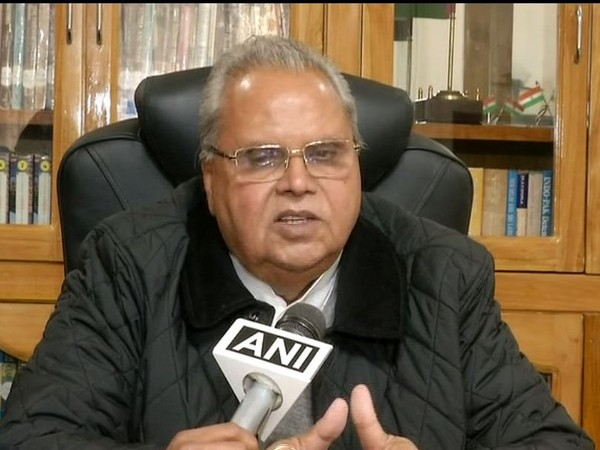 Jammu and Kashmir Governor Satya Pal Malik. File photo/ANI