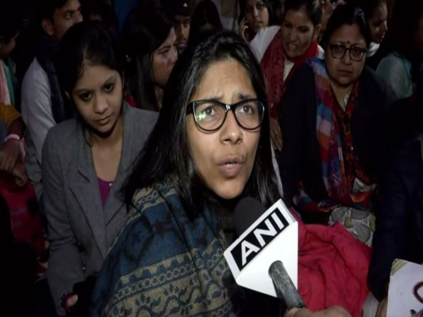 DCW chairperson speaking to ANI in New Delhi on Tuesday. Photo/ANI
