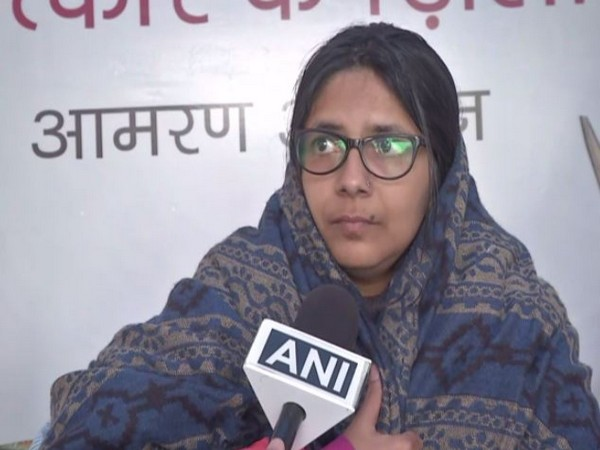 Delhi Commission for Women chairperson Swati Maliwal speaking to ANI in New Delhi on Friday. (Photo/ANI)