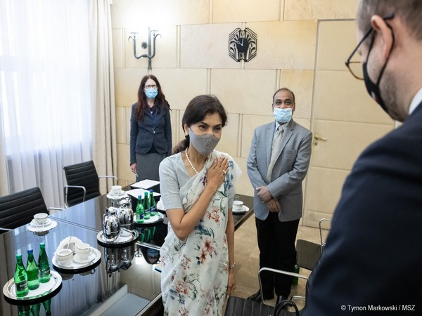 Nagma Mohamed Mallick (Photo Credit: Poland Foreign Ministry)