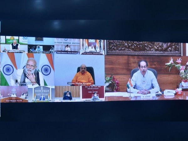 A visual from the meeting on Tuesday. Photo/ANI