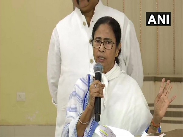 Chief Minister Mamata Banerjee addressing a press conference in Nabanna on Friday.