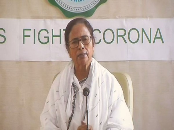 West Bengal Chief Minister Mamata Banerjee speaking at a press conference in Nabanna on Tuesday. Photo/ANI