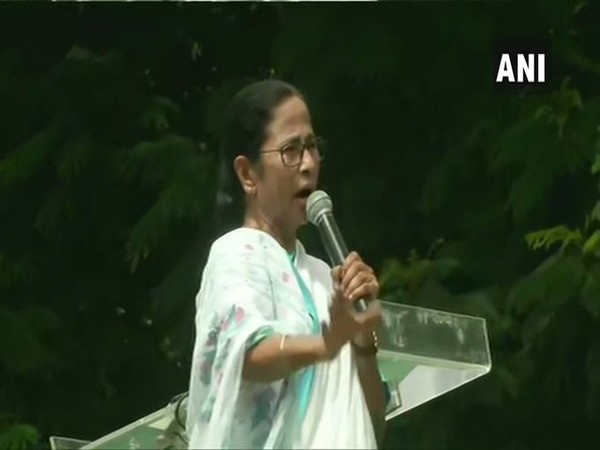 West Bengal Chief Minister Mamata Banerjee addressing a gathering of TMC's student wing in Kolkata on Wednesday.
