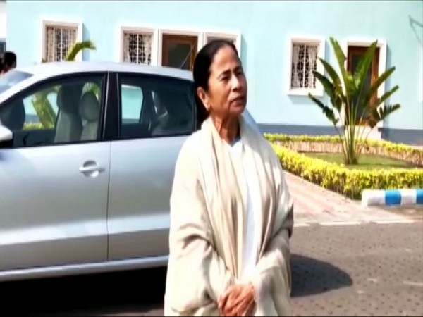 West Bengal Chief Minister Mamata Banerjee speaking to reporters in Howrah on Monday. Photo/ANI