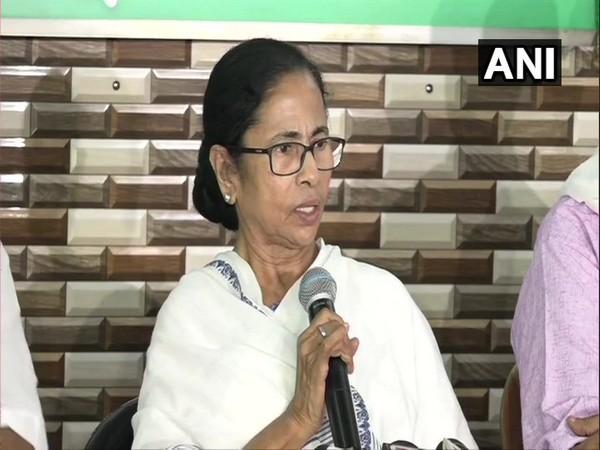 Chief Minister Mamata Banerjee addressing a press conference in Kolkata on Friday.