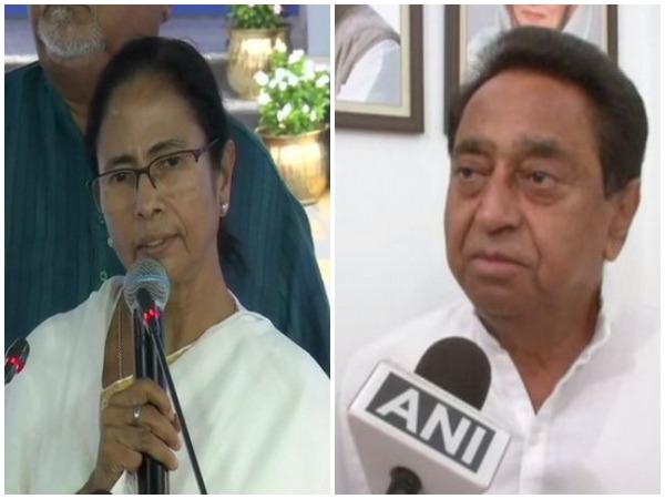 West Bengal Chief Minister Mamata Banerjee / Madhya Pradesh Chief Minister Kamal Nath