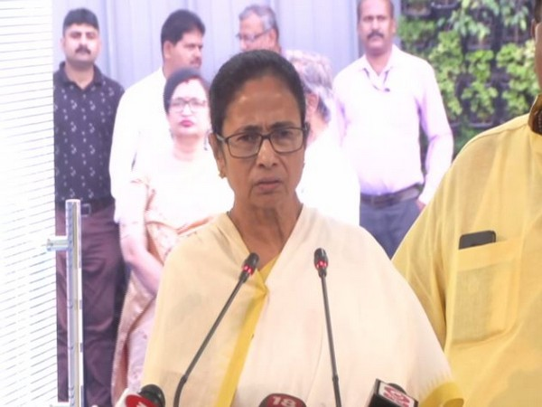 West Bengal Chief Minister Mamata Banerjee speaking to reporters at state secretariat 'Nabanna' in Howrah on Thursday. Photo/ANI