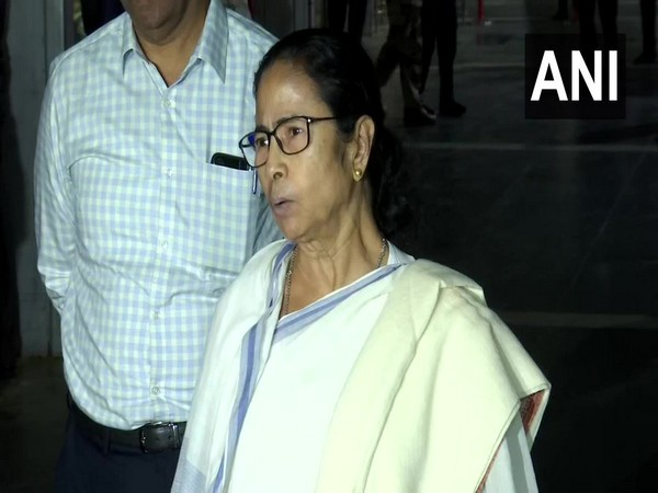 West Bengal Chief Minister Mamata Banerjee speaking to reporters in Kolkata on Tuesday. Photo/ANI