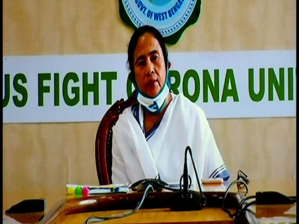West Bengal Chief Minister Mamata Banerjee during press conference in West Bengal on Monday. Photo/ANI