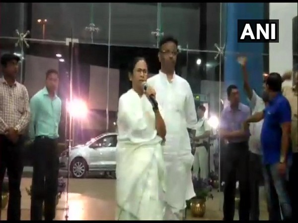 Chief Minister Mamata Banerjee speaking to reporters here on Tuesday. Photo/ANI