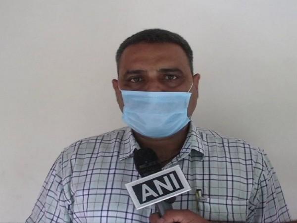 Raj Kumar Chandel, ASP Kullu speaking to ANI on Saturday. (Photo/ANI)