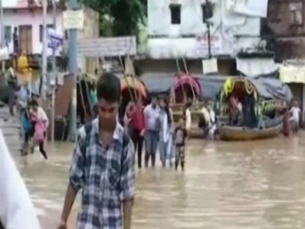Visaul from Chitrakoot floods