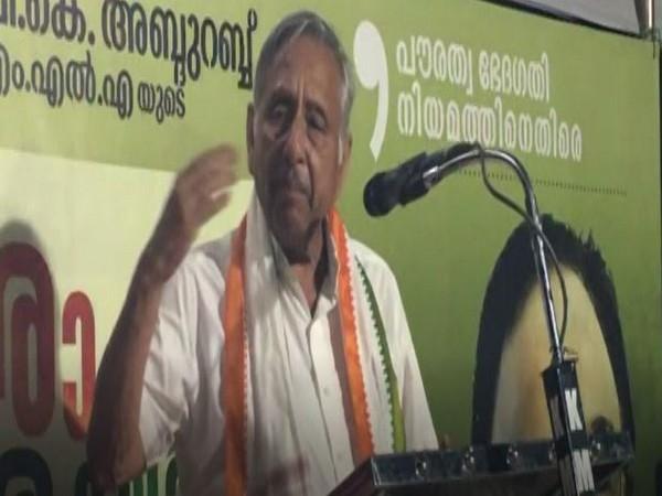 Congress leader Mani Shankar Aiyar. Photo/ANI
