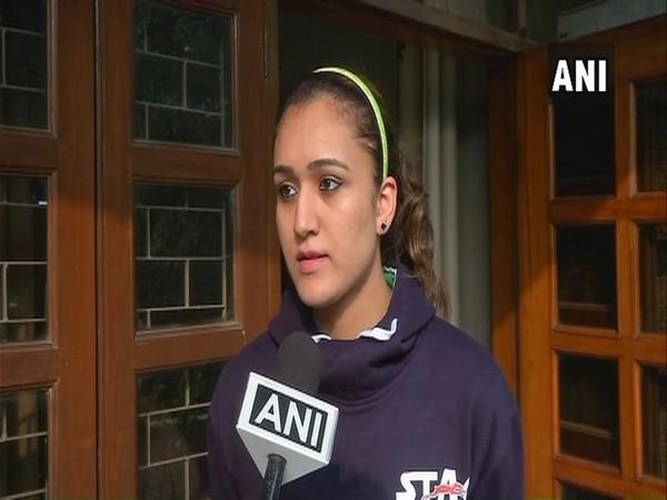 Indian table tennis star Manika Batra (ANI file picture)