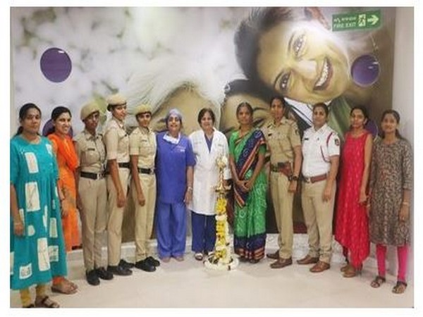 Manipal Hospital Bangalore organizes well women health check for Bangalore City Police and CRPF on International Women's Day