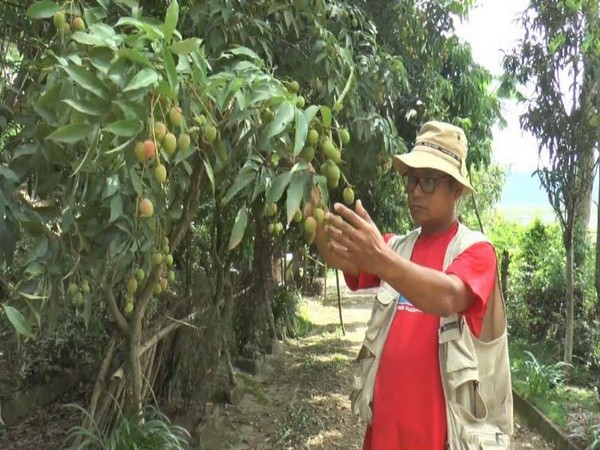 Manipur farmer takes up horticulture to boost eco-tourism.