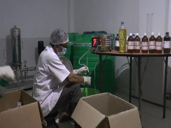 Liquor firm in Manipur makes hand sanitisers to meet state requirements during coronavirus crisis.