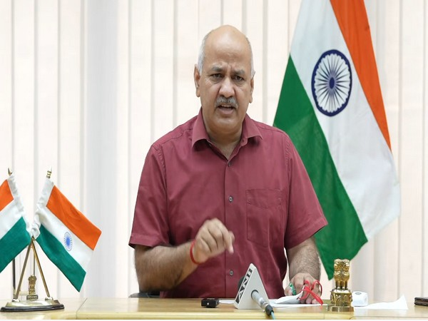 Delhi's Deputy Chief Minister Manish Sisodia (Photo/ANI)