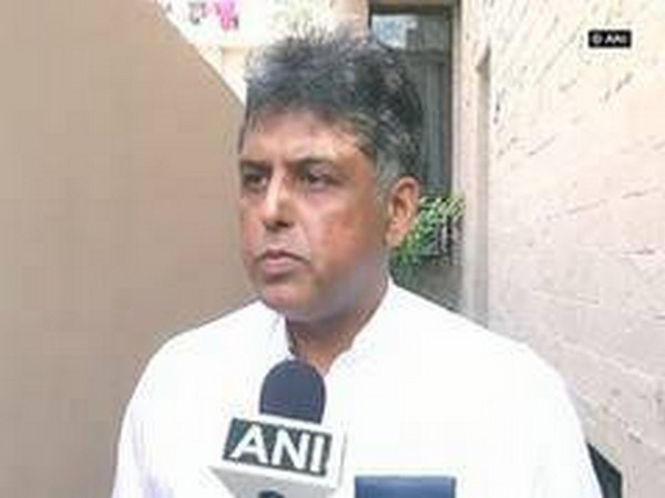 Congress leader Manish Tewari. (File photo)