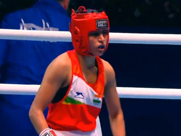 Manju Rani (Photo/Boxing Federation Twitter)