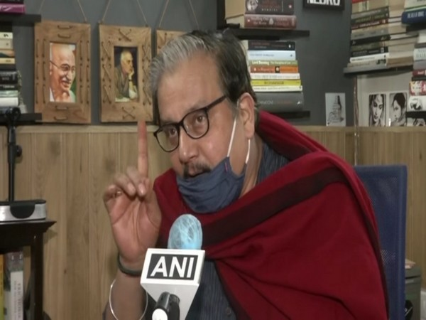 RJD leader Manoj Jha speaking to ANI in New Delhi on Saturday. Photo/ANI