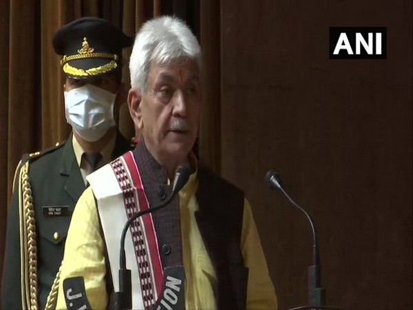 Jammu and Kashmir Lieutenant Governor (LG) Manoj Sinha. (File Photo)