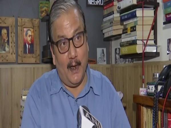 Rashtriya Janata Dal leader Manoj Jha (Photo: ANI)