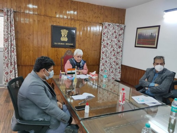 J-K Lieutenant Governor, Jitender Singh inaugurates Mansar Rejuvenation plan (Picture credits: Department of Information and Public Relations, Government of Jammu and Kashmir official Twitter)