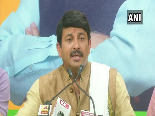BJP MP Manoj Tiwari (File photo)