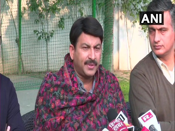 Manoj Tiwari, Delhi BJP chief speaking to reporters over assembly poll results on Tuesday.
