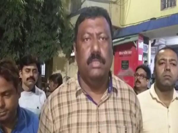 TMC's  Alipurduar block president Manaranjan Dey speaking to ANI.