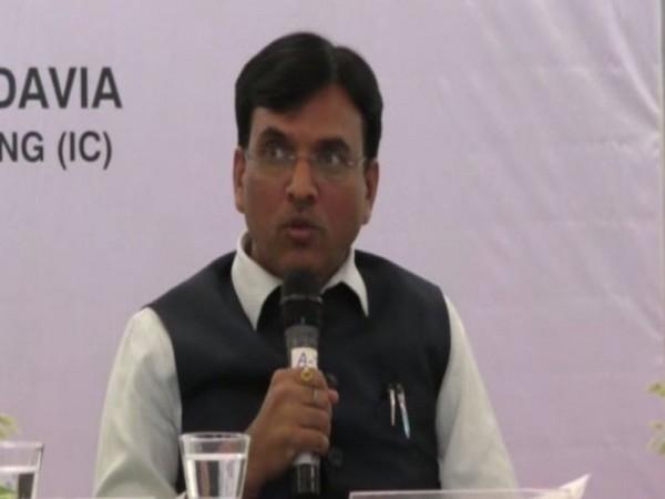 Union Minister Mansukh Mandaviya (File Photo/ANI)