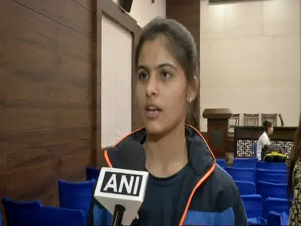 Indian shooter Manu Bhaker (ANI file picture)