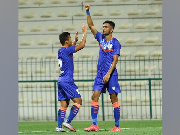 India forward Manvir Singh (Photo/ Indian Football Team Twitter)