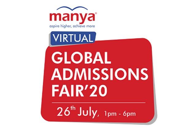 Manya Virtual Global Admissions Fair'20 logo