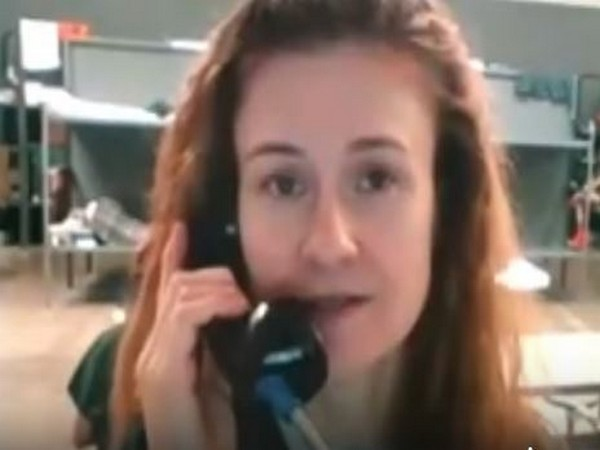TASS cited the video in which Maria Butina is seen speaking over phone in Oklahoma prison