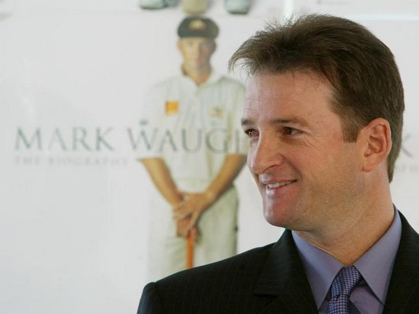 Former Australian player Mark Waugh