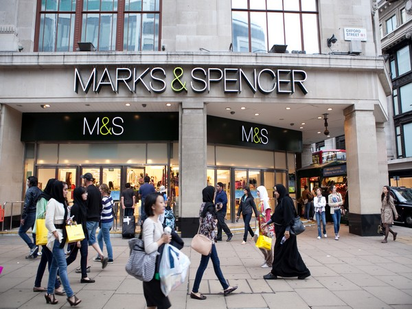 M&S said its total revenue was down 38.5 per cent in the last 13 weeks