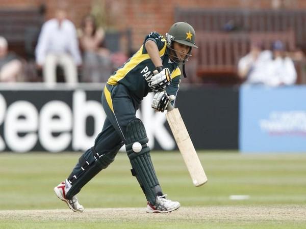 Pakistan cricketer Bismah Maroof