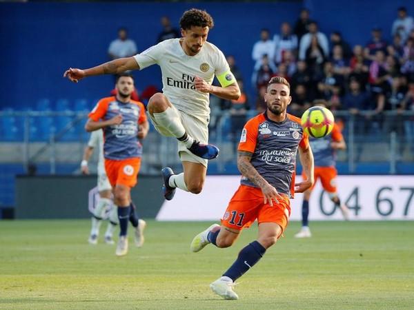 Paris Saint Germain defender Marquinhos