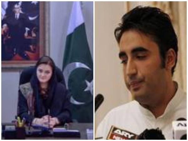 PML-N spokesperson Marriyum Aurangzeb and PPP chairman Bilawal Bhutto Zardari