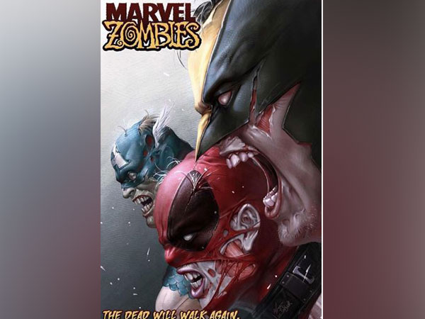 Cover of 'Marvel Zombies' (Image courtesy: Instagram)