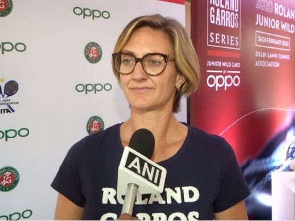 former tennis player Mary Pierce