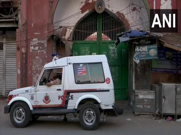 Fatehpuri Masjid remained closed for public on Eid-ul-Fitr in New Delhi on Monday. [Photo/ANI]